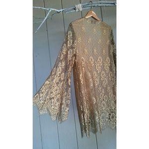 Vintage Valentino Lace Kimono